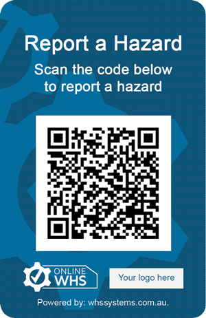 Manage Hazards with QR Codes and Online WHS